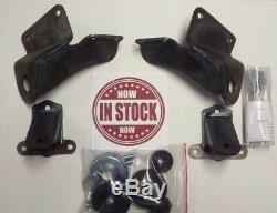 Chassis Engineering CP-1112 1955-1957 Chevy Motor Mounts, Engine Mounting Kit