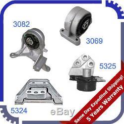 Motor Mount 3069 3082 5324 5325 M975 For Chevrolet Equinox 3.4L Engine /& Trans