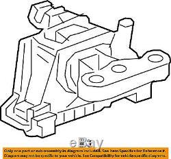 Chevrolet GM OEM 2016 Volt-Engine Motor Mount Torque Strut 22969965