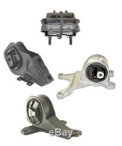Chevrolet Malibu Olds Cutlass 3.1L 4 Pc Motor Mount & Transmission Mount Kit