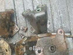 Chevy 292 frame motor mounts and block mounts