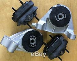 Chevy Equinox 2008 2009 3.6L Pontiac Torrent Automatic Motor Transmission Mounts