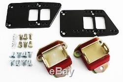 Chevy LS Billet Engine Conversion Polyurethane Motor Mounts Swap Kit LS1-LS6