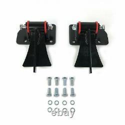 Chevy LS Series Weld In Motor Mount Set Engine & Frame Brackets car truck Pickup