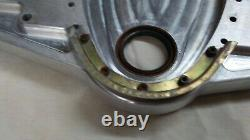 Chevy Small Block Front Machined Aluminum Motor Mount Plate street drag hot rod