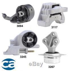 Complete Engine Motor Mount Set 4PCs for Chevrolet Malibu 2.4L Automatic Trans