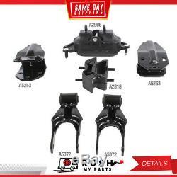 DNJ MMK1068 NEW Motor & Trans. Mount Kit For 06-11 Chevrolet Impala 3.5L OHV 12v