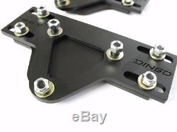 Dirty Dingo Adjustable Motor Mount Plates Chevy Small Block/Big Block 3 Travel