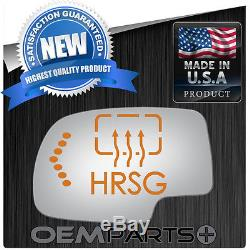Driver Side Flat Ec Power Mirror Glass Heat Grid Signal Motor Mount Replacement