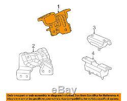 Duramax Diesel Passenger Side Motor Engine Mount Right 2001-2010 Truck 15829220