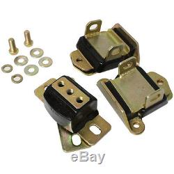 Energy Suspension 3-1120G Motor & Transmission Mount Kit 1963-82 Chevy Car