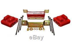 Energy Suspension 3.1131R 2 Motor Mounts & 1 Transmission Mount (Zinc Finish)