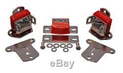 Energy Suspension 3.1133R 2 Motor Mounts & 1 Transmission Mount (Chrome Finish)