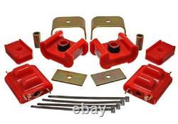 Energy Suspension 73-84 K5 Blazer 4WD Fullsize Red Complete Motor&Trans Mount Se
