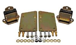 Energy Suspension GM LS Series Motor Mount Conversion Kit Black for 69-72 Nova