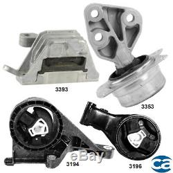 Engine Motor Mount & Auto. Trans. Mount 4Pcs Set for Chevrolet Malibu 13-15 2.5L