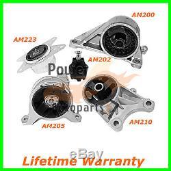 Engine Motor Mounts Set For 00/09 Chevrolet Zafira Astra 2.2 L