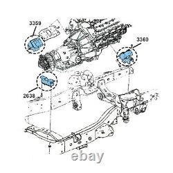 Engine Motor & Trans. Mount 3Pcs Set for Chevrolet Colorado 5.3L 4 Wheel Drive