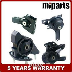 Engine Motor &Trans Mount Set 4PCS fit for Toyota Corolla 1.8L 3Spd Auto