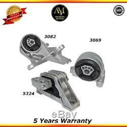 Engine Motor & Trans. Mounts 3Pcs Set for Chevrolet Equinox 05-06 3.4L