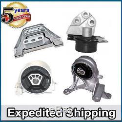 Engine Mount 3069 3082 5324 5325 4PCS M975 For Chevrolet Equinox Pontiac Torrent