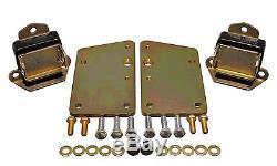 Engine Mount-GM LS Series Motor Mount Conversion Kit fits 68-72 Chevelle 5.0L-V8