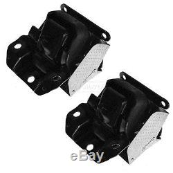 Engine Mount withBracket Front LH RH Pair Set for Cadillac Chevy GMC Pickup SUV