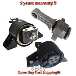 Engine & Trans Mount 3PCS. 04-08 for Chevy Aveo, Aveo5 / for Pontiac Wave 1.6L