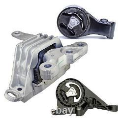 Engine & Trans Mount 3PCS 10-17 for Buick LaCrosse/Cadillac XTS/Chevrolet Impala