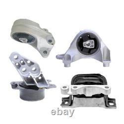Engine & Trans Mount 4PCS. 10-17 for Chevy Equinox / for GMC Terrain 3.0L 3.6L