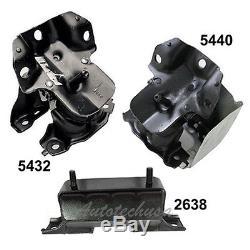 Engine & Trans. Mount M1130 Chevy Silverado 1500 GMC Sierra 1500 2638 5432 5440