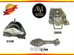 Engine & Trans. Mount Set 3PCS for Chevrolet Cavalier/Pontiac Sunfire 02-05