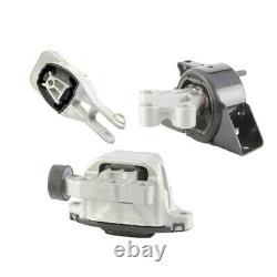 Engine & Trans & Torque Strut Mount 3PCS. 13-18 Chevrolet Sonic 1.4L for Auto