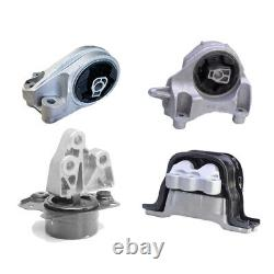 Engine & Transmission Mount 4PCS. For Chevy Equinox 2.4L GMC Terrain for Auto