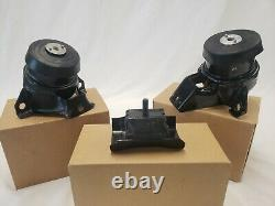 Engine & Transmission Mount Set 3PCS for Cadillac Escalade 19-15 6.2L