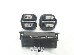 Engine & Transmission Mounts set 3pcs Fits Chevrolet Trailblazer, SSR 5.3L 6.0L