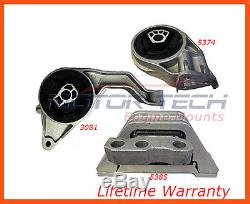 Fits05-11 Chevy Cobalt, HHR, Pontiac G5 2.2L, 2.4L Motor & Trans. Mount Set AT