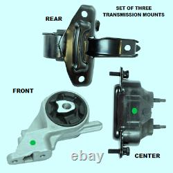 Fits 2004-2010 Chevrolet Malibu (3.5l, V6) - Set Of 3 Transmission Mounts