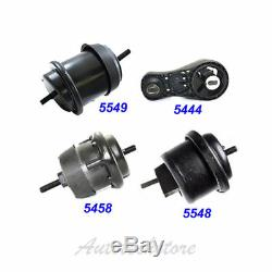 For 09-15 Chevy Traverse/GMC Acadia 3.6L Engine Motor & Trans. Mount Set 4 M991