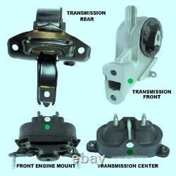 For 2004-2010 Chevrolet Malibu 3.5l, V6 Set Of 4 Engine & Transmission Mounts