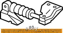 GM OEM-Engine Motor Mount/Torque Strut 22708437