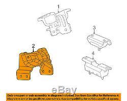 GM OEM Engine Motor & Transmission-Mounting Bracket Left 15113848