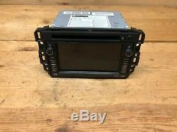 Gm Chevy Gmc Oem 07-14 Naviigation Gps Radio CD DVD Player Head Unit Screen