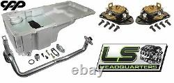 Holley 302-2 LS Engine Swap Oil Pan Conversion Kit With CPP FitRite Motor Mounts