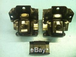 Hydraulic Front Motor Mounts & Trans Mount 3PCS for 07-13 Chevy Silverado 2WD