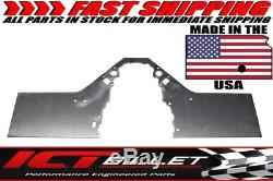 LSX Front Engine Plate 1 piece Aluminum Chevy Solid Motor Mount Block LS LS1 802