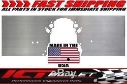 LSX Front Engine Plate 1 piece Aluminum Chevy Solid Motor Mount Block LS LS1 805