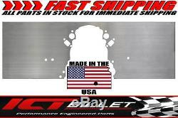 LSX Front Engine Plate Aluminum Chevy Solid Motor Mount LS LS1