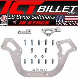 LS Sprint Car Front Engine Plate 1pc Aluminum Chevy Motor Mount 19.5 Wide LS1