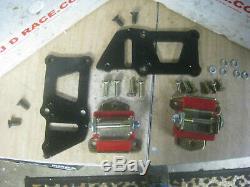 Ls Motor Mounts Gm Adaptor Plates Trans Dapt 4587 V8 Chevy Car Chassis